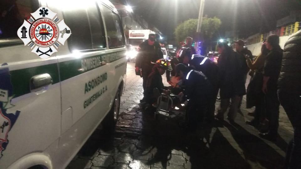 San Marcos adolescente atropellado motorista