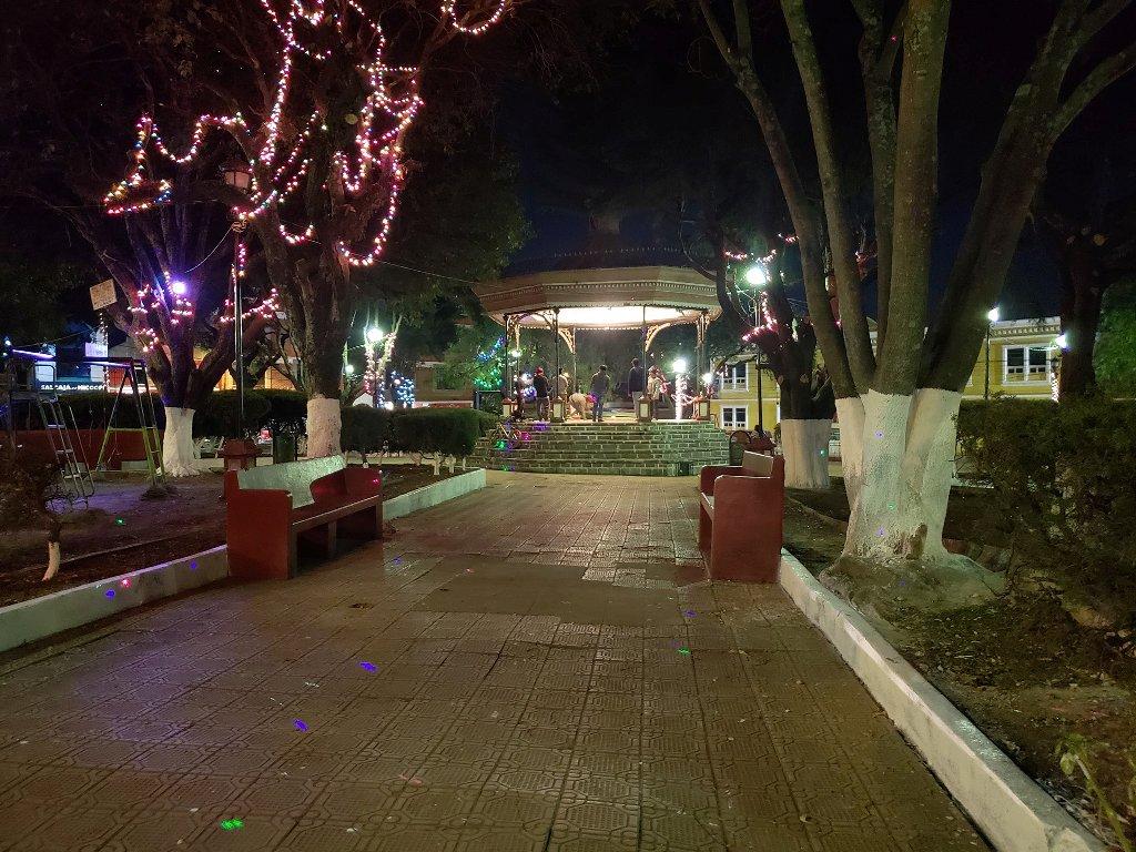 Quetzaltenango mantenimiento Parque El Carmen