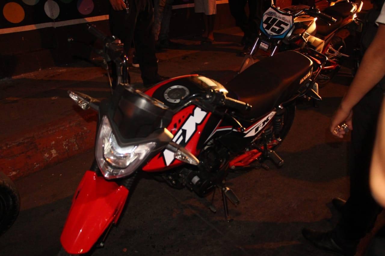 Escuintla motocicletas carreras clandestinas