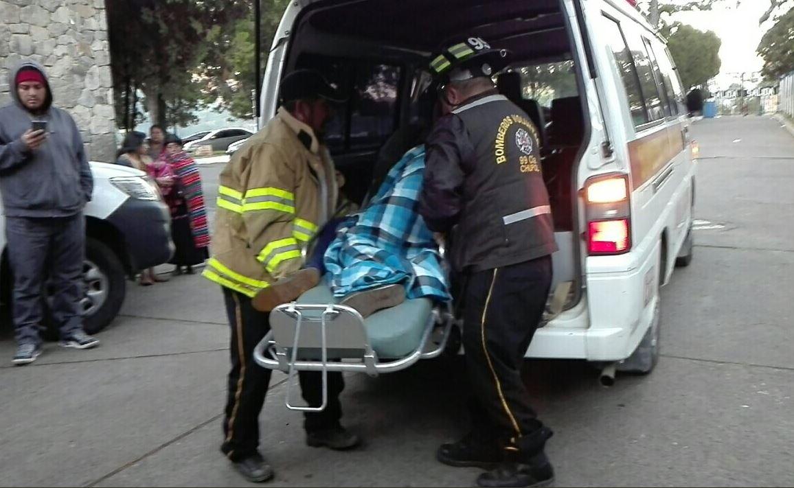 Quiché Chupol accidente tránsito