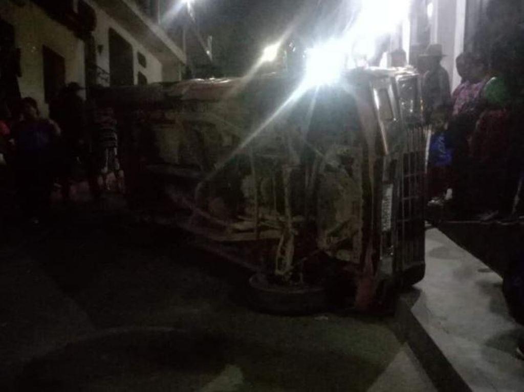 Quiché accidentes Chupol Chichicastenango