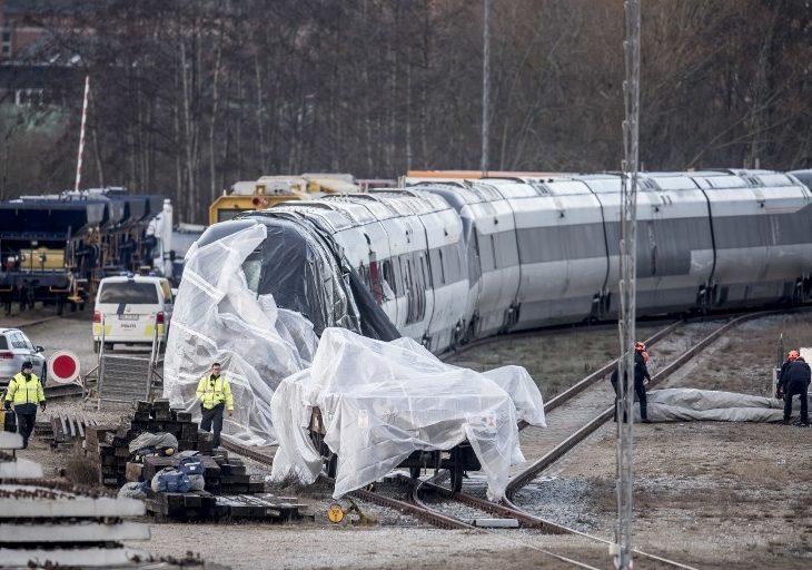 Balance de accidente ferroviario en Dinamarca