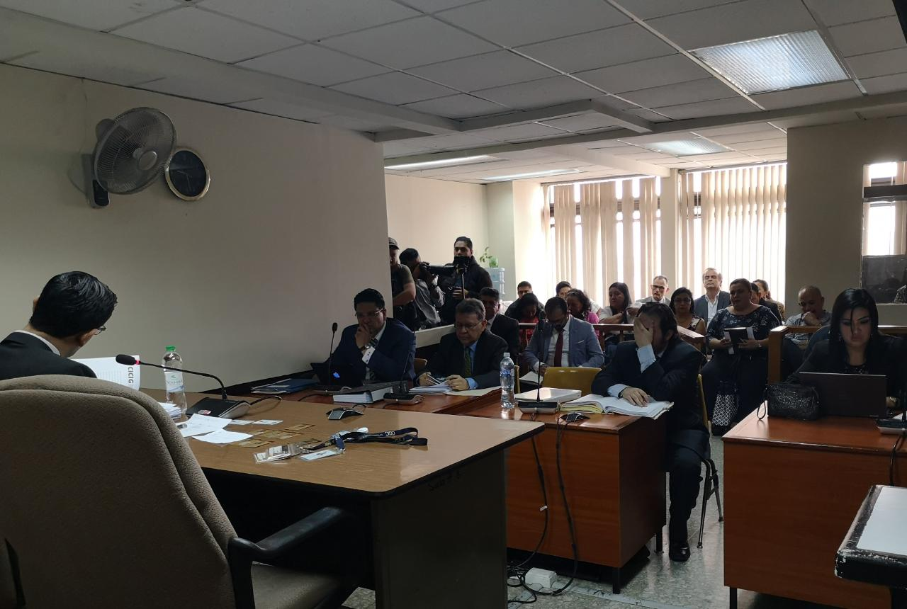 Audiencia caso IGSS SAP