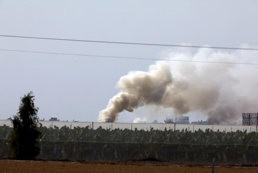 Ejército israelí bombardea