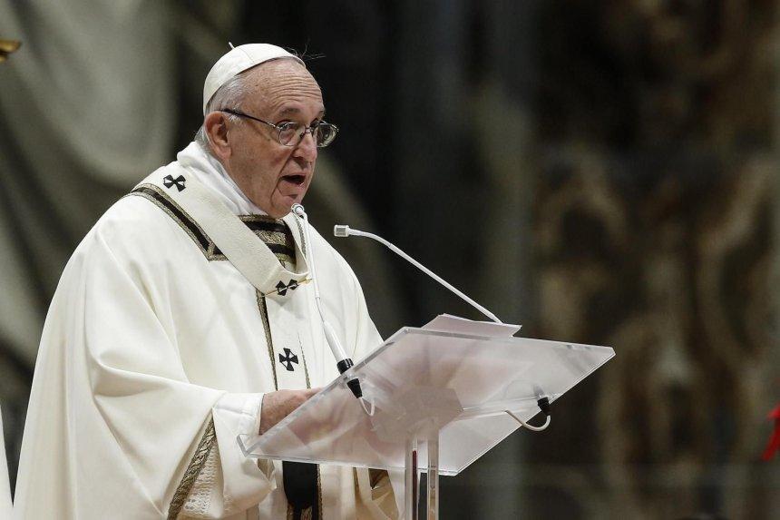 El papa promete