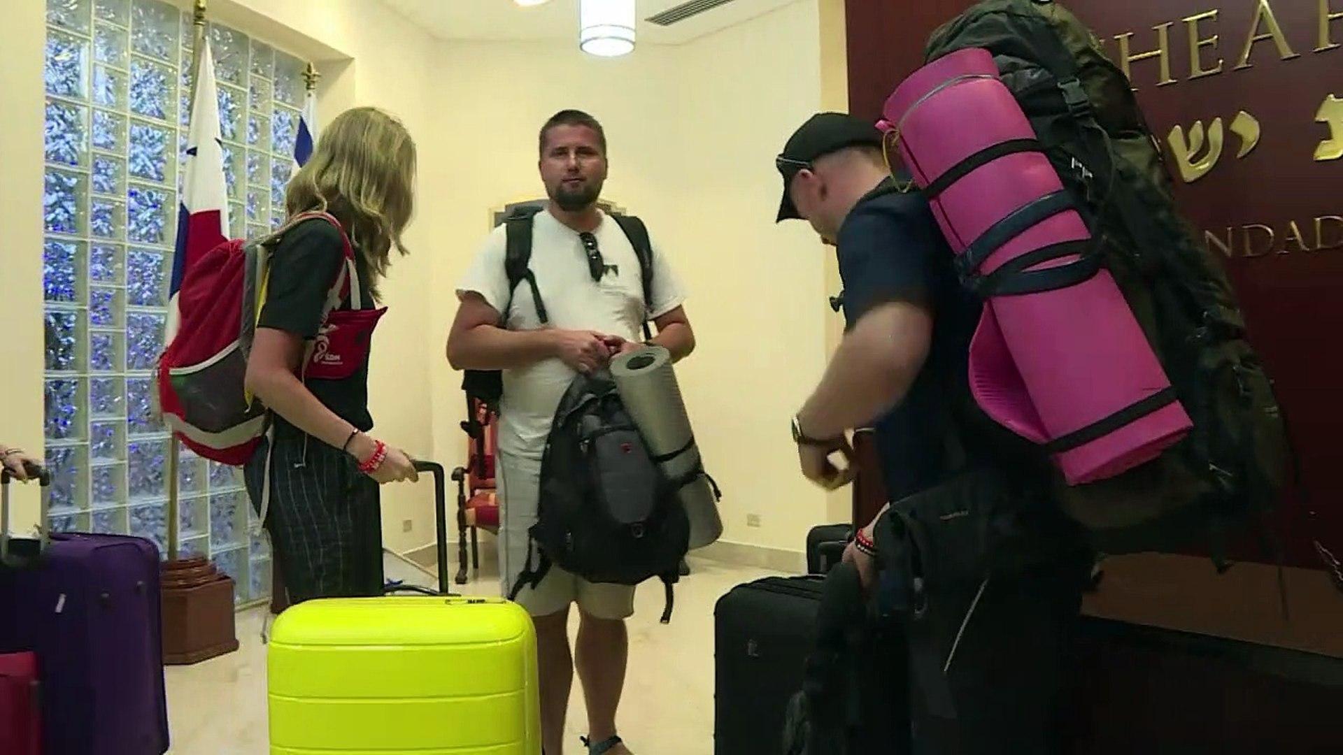 En Panamá para ver al papa Francisco