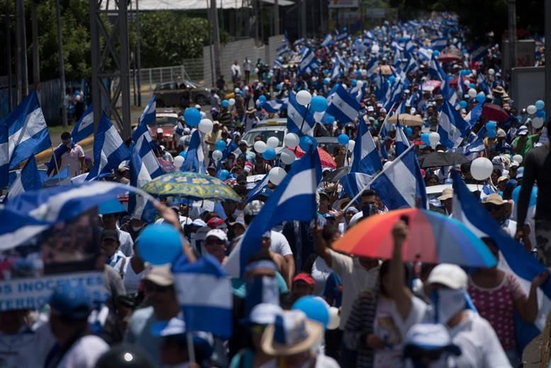 Ocho nicaragüenses son condenados