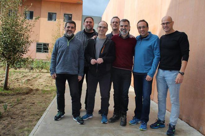 Piden traslado de presos catalanes a Madrid