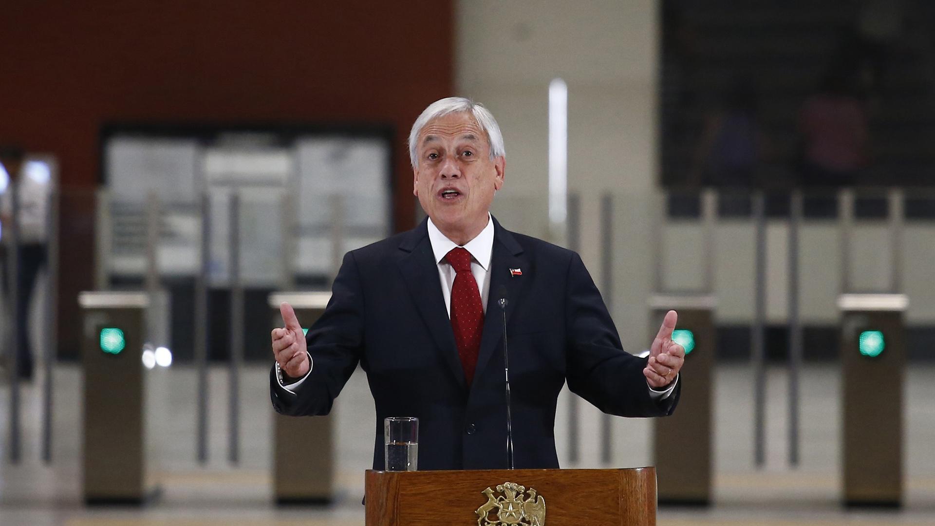 Piñera exige liberación