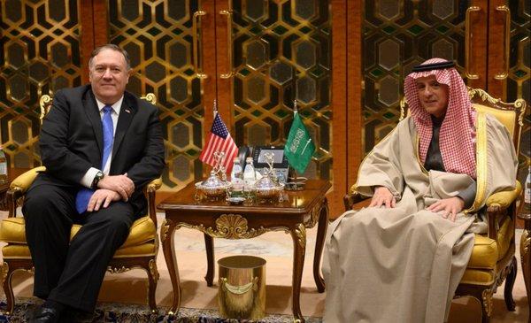 Pompeo pedirá a los sauditas