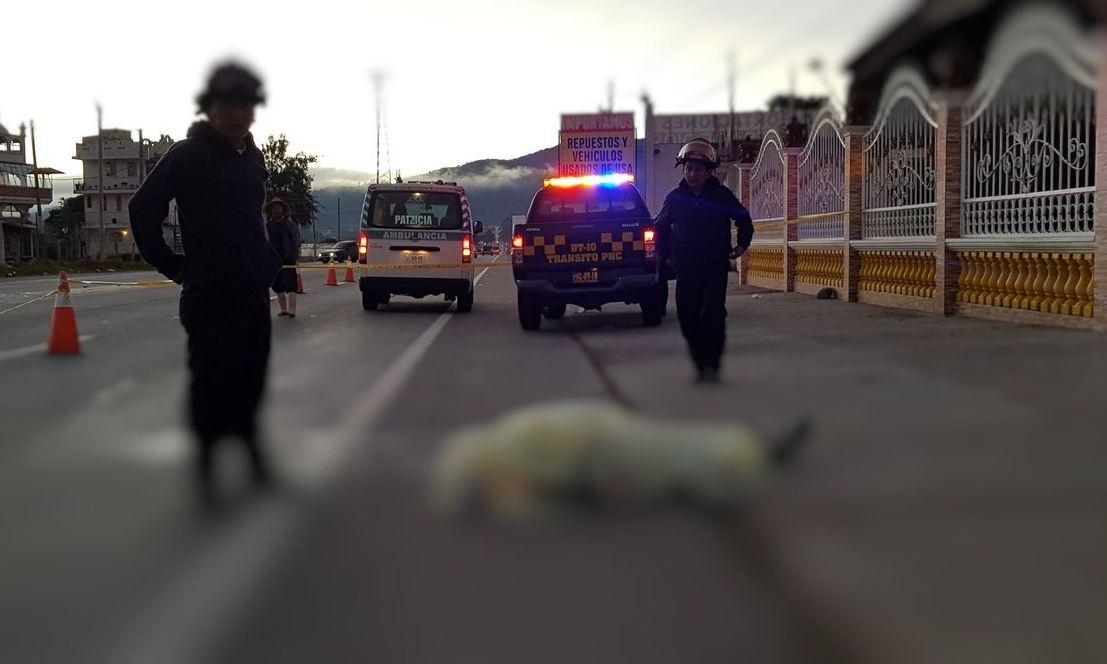 PNC Chimaltenango Patzicia Ruta Interamericana