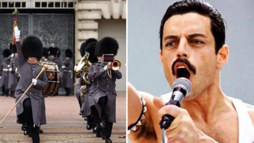 Guardias Inglaterra Bohemian Rhapsody