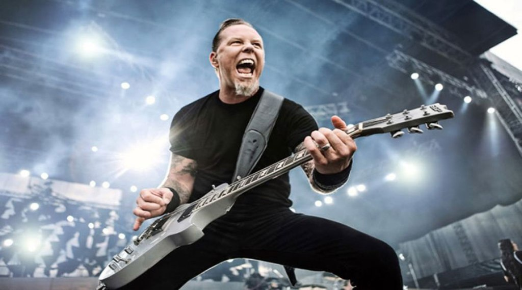 James Hetfield Metallica Extremely Wicked, Shockingly Evil, And Vile