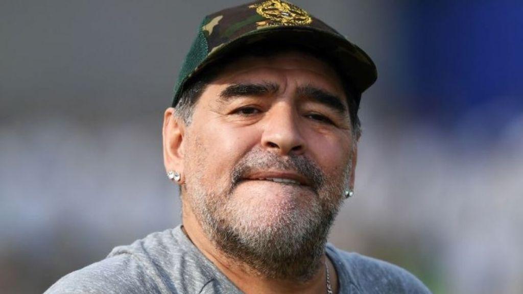 Maradona look Año Nuevo 2018