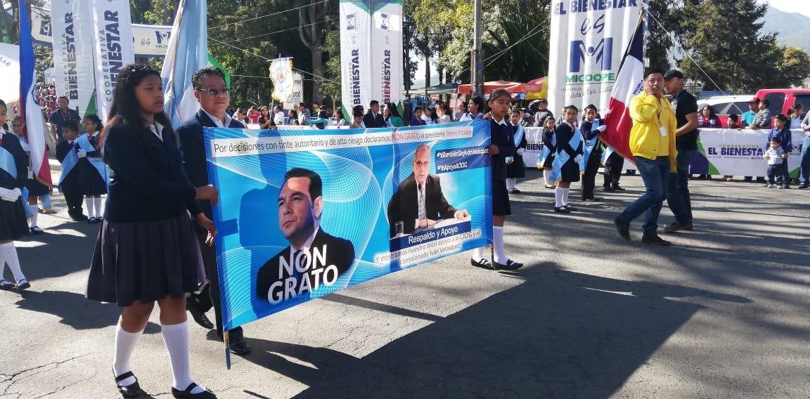 Ramón Yax destitución CICIG Jimmy Morales