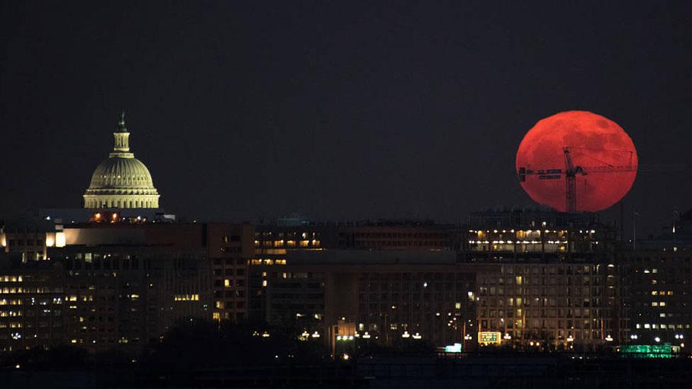 Superluna sangre NASA eclipse lunar