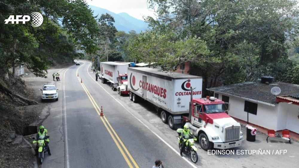 Ayuda humanitaria de EEUU llega