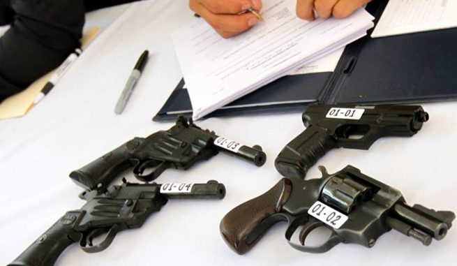Costa Rica intenta controlar tenencia de armas