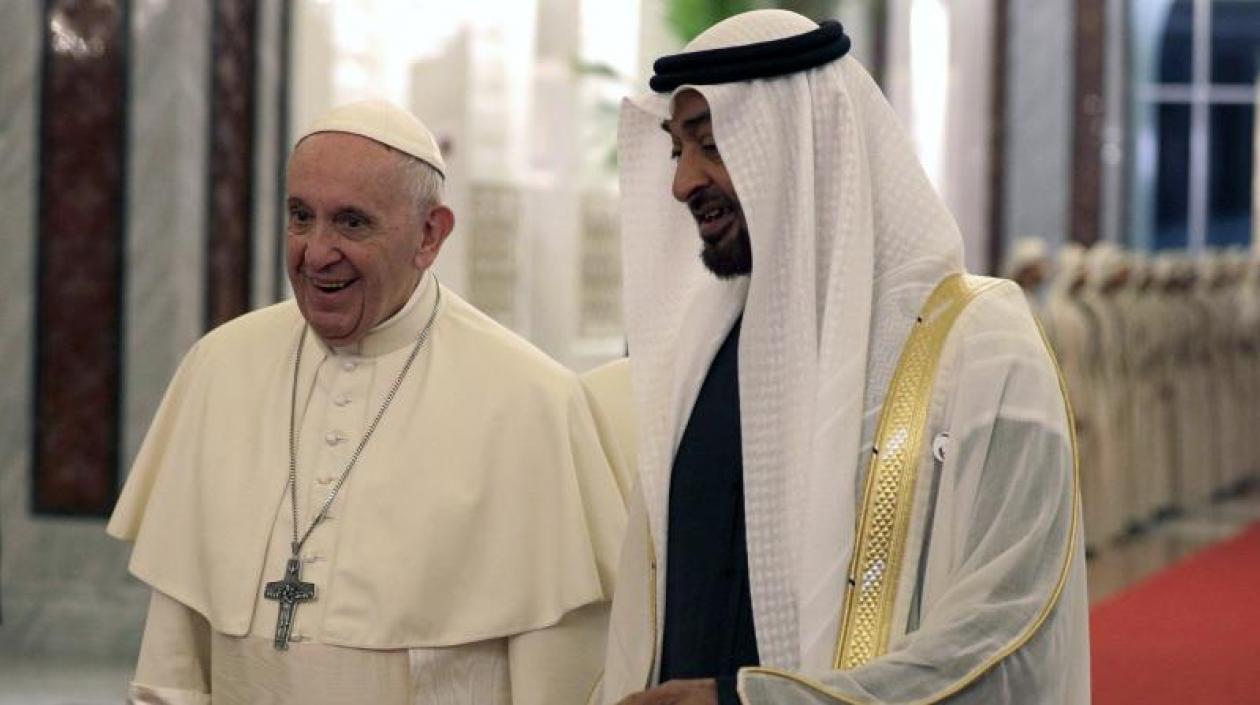 El papa en Emiratos Árabes Unidos