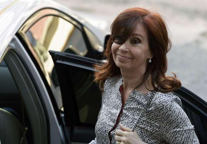 Expresidenta argentina Cristina Fernández de Kirchner