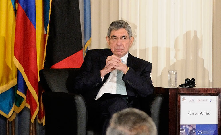Expresidente costarricense, Oscar Arias
