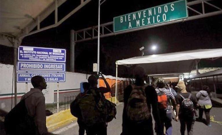 Detienen en la frontera de Nuevo México a más de 600 migrantes en tres días