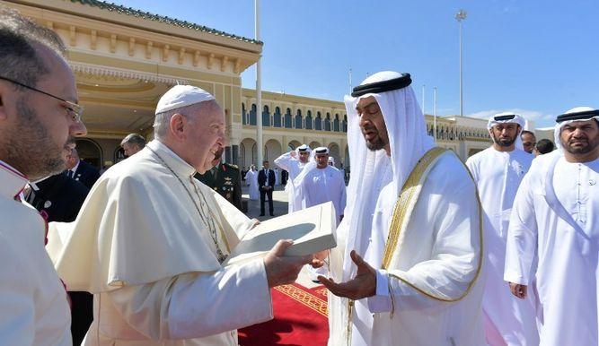 Histórica misa del Papa