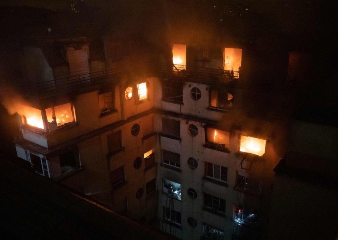 Una detenida en relación con el incendio que causó ocho muertos en París