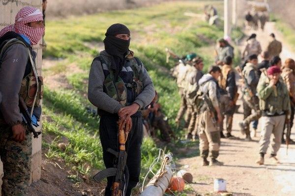 La ofensiva contra el Estado Islámico en Siria