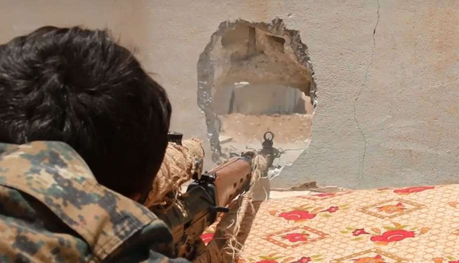Las fuerzas arabo kurdas se preparan