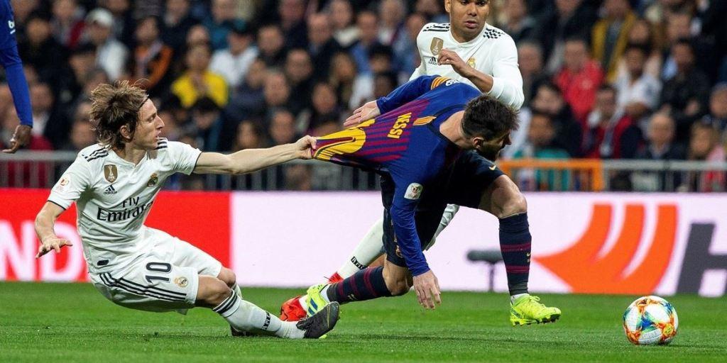 Clásico Español Real Madrid Barcelona Copa del Rey