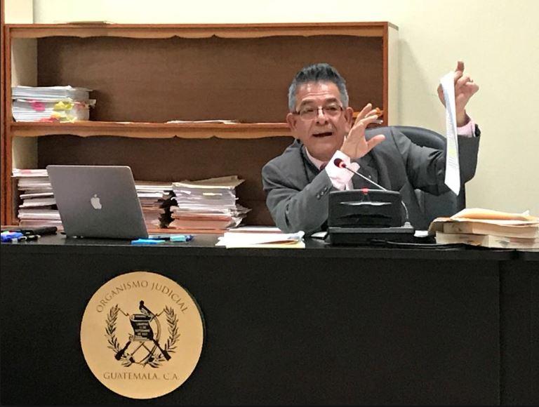 Juez Miguel Ángel Gálvez teme por su seguridad tras cambios en el Organismo Judicial
