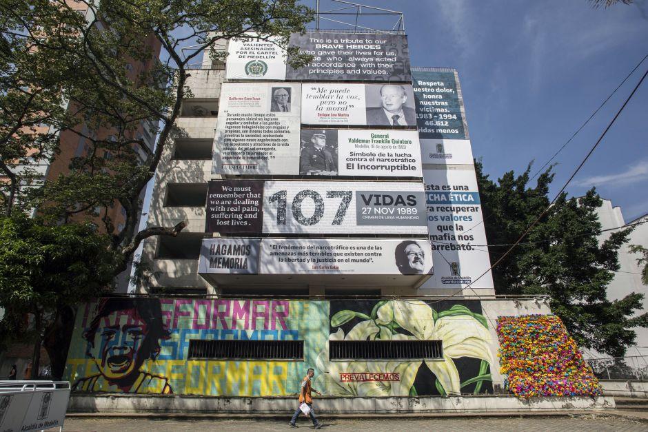 Medellín se deshace del edificio Mónaco
