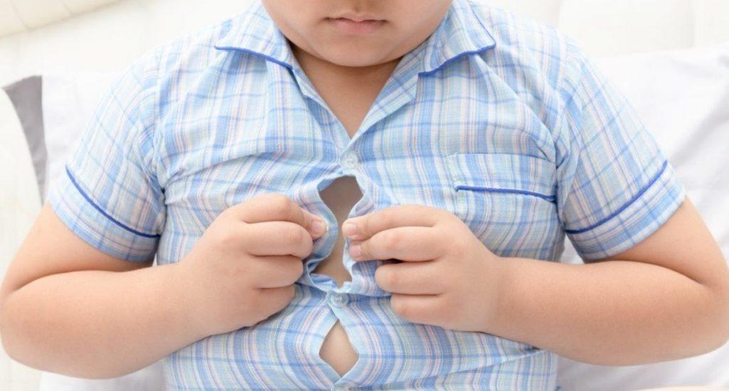 Niños obesos podrían padecer trastornos