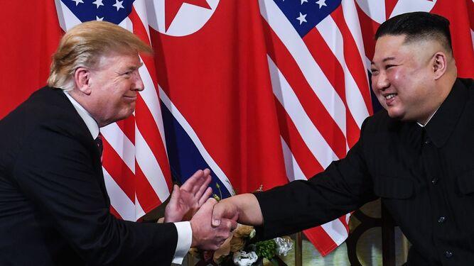 Trump y Kim se muestran optimistas