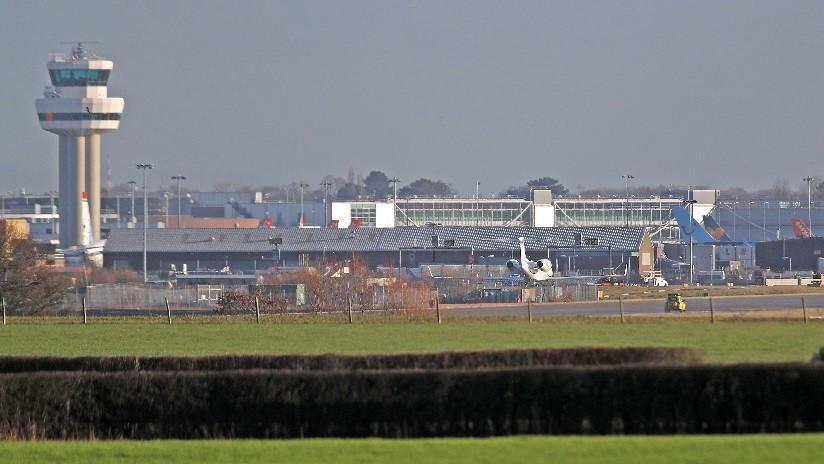 Vuelos brevemente suspendidos en aeropuerto de Dublín