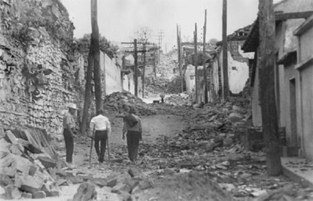 Totonicapán terremoto Guatemala 1976