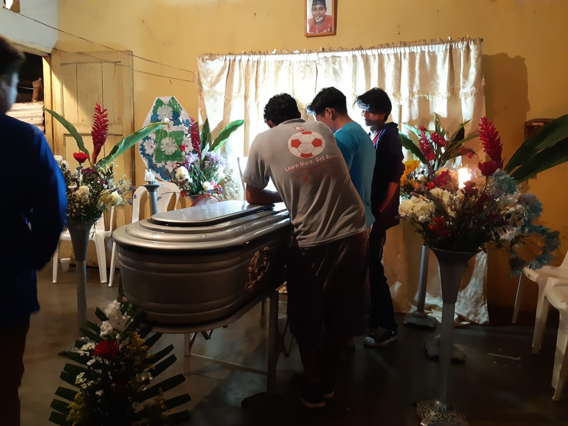 Retalhuleu cantón Dolores tragedia familias