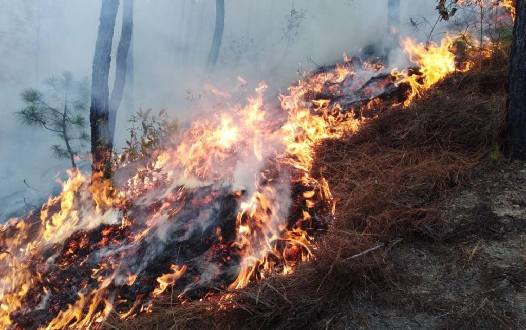 Quetzaltenango Huehuetenango incendios