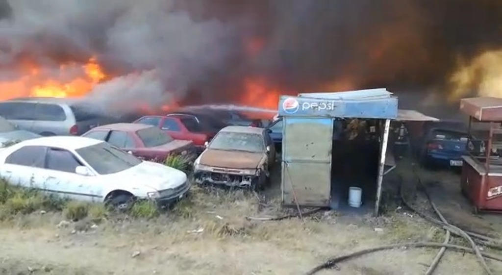 Zacapa Guatemala siniestros incendios vehículos predios