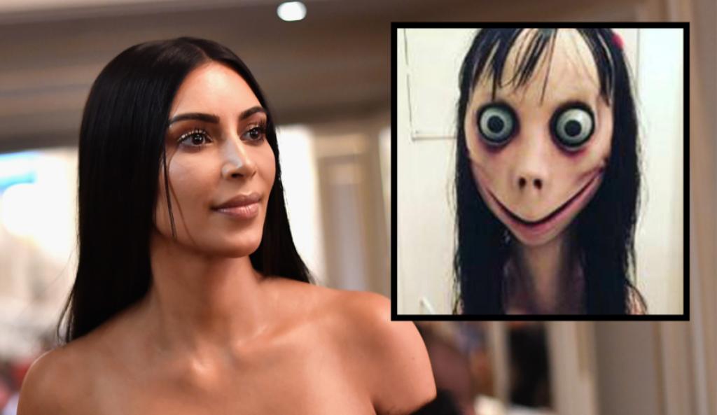 Kim Kardashian Momo Challenge
