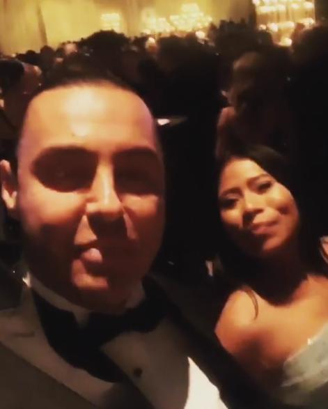 Latin Lover y Yalitza Aparicio en los Oscars