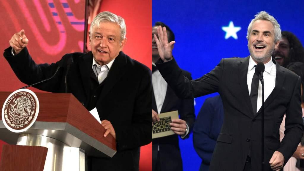 Presidente de México Andrés López Obrador Alfonso Cuarón