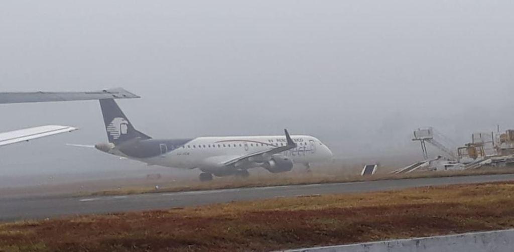 vuelos Aeropuerto Internacional La Aurora neblina