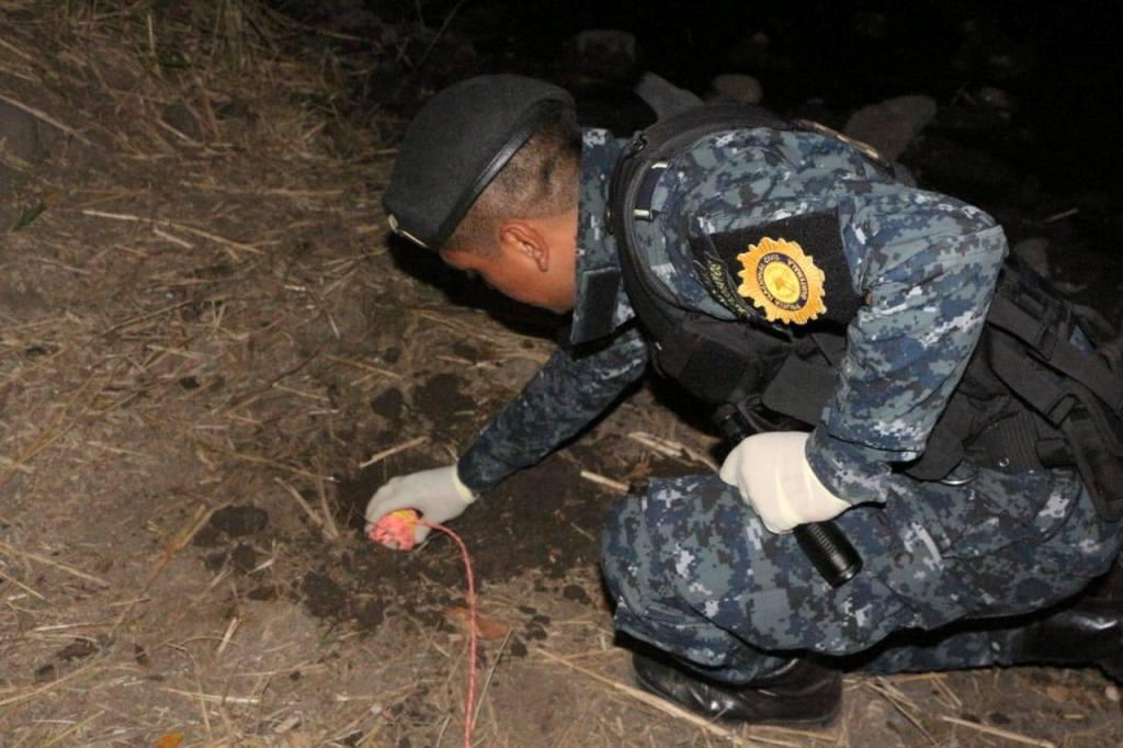 Jalapa artefacto explosivo terreno baldío