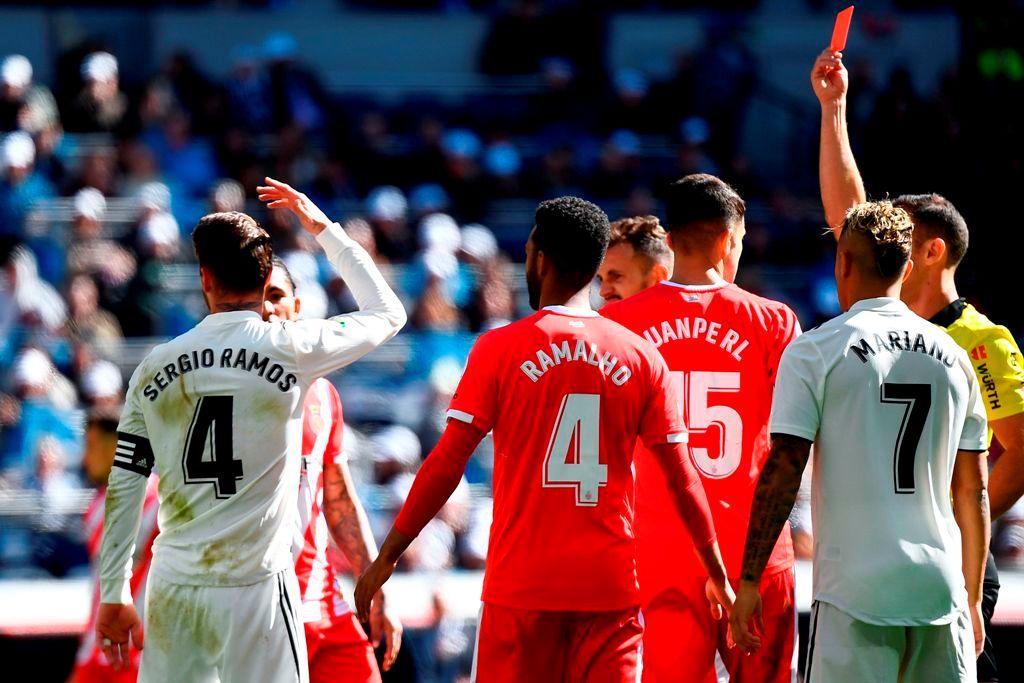 Sergio Ramos Real Madrid Liga expulsión