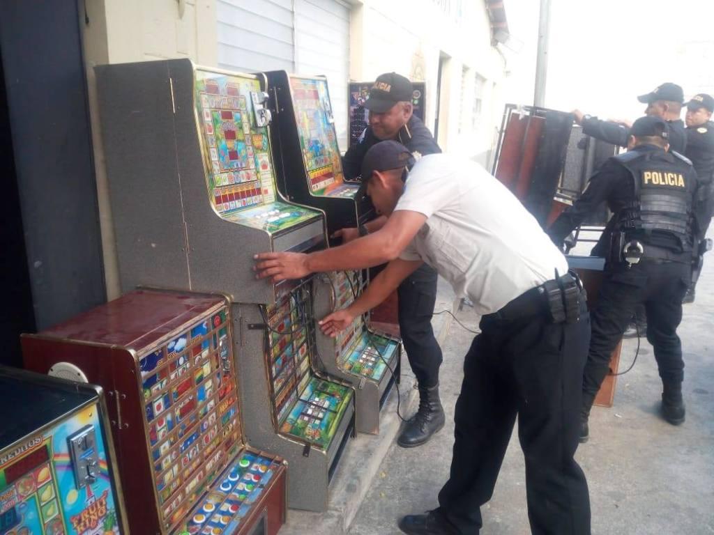 Zacapa PNC máquinas tragamonedas