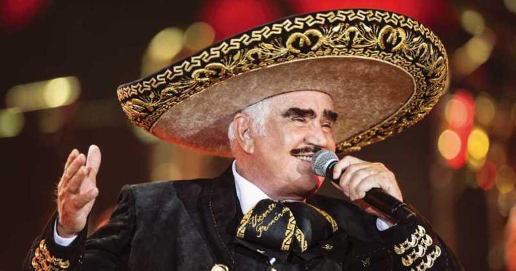 Vicente Fernández cumpleaños 79