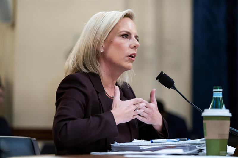 Kirstjen M. Nielsen, secretaria de Seguridad Nacional de EEUU. Foto: EFE.