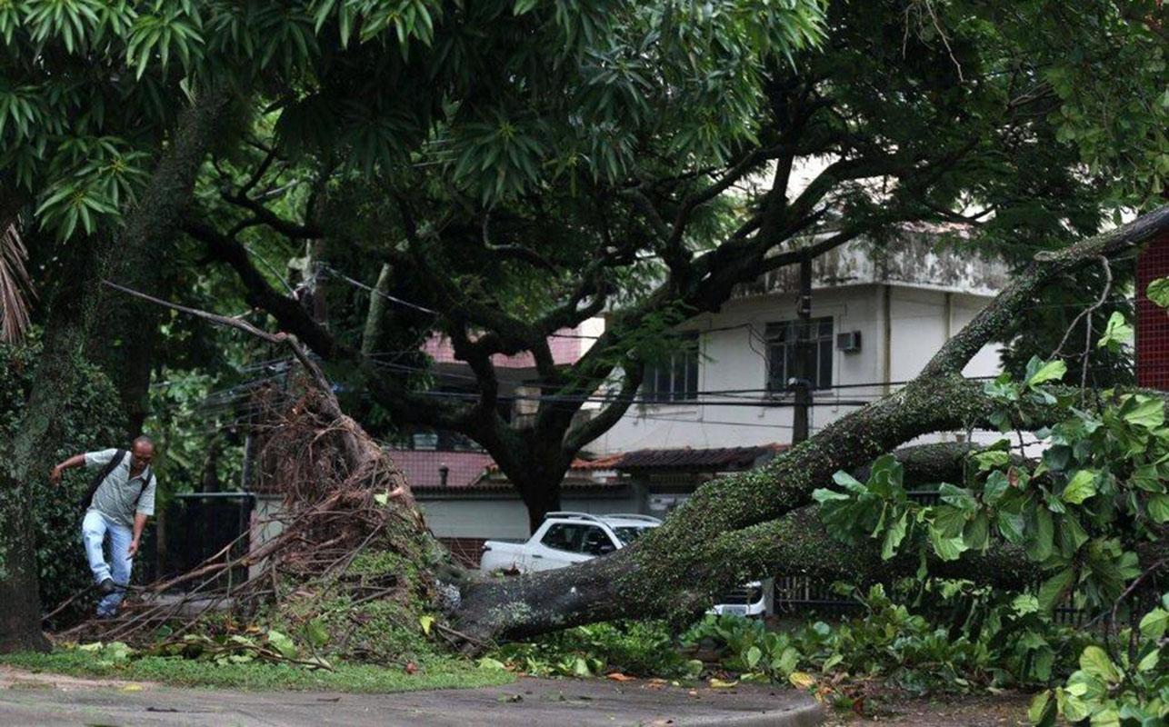 Al menos siete muertos por fuerte temporal en Sao Paulo